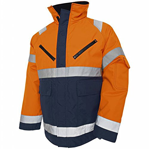 """Blakläder Winterjacke """"High-Vis"""" Klasse 3 Größe XXXL in Orange/marineblau , 1 Stück, , 482719775389XXXL"""