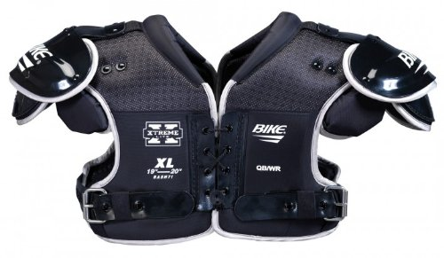 Bike Shoulder Pads X-Treme Lite für Quarterback, Defensive Back und Wide Receiver | Größe: L