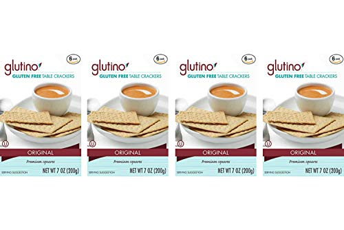 Glutino Crackers, Table, 7-Ounce (Pack of 6) (4 Pack) by Glutino (Image #1)