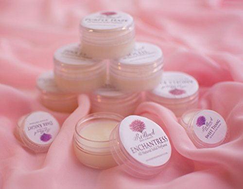"Womens Solid Perfume Fragrance All Natural .50 oz ""Butterfly Kisses"" Patchouli & Amber"