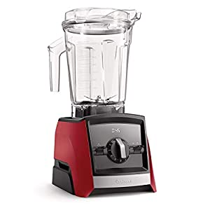 Vitamix A2300 Ascent Series Smart Blender, Professional-Grade, 64 oz. Low-Profile Container, Red