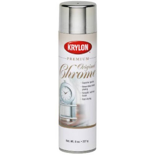 (Krylon K01010A07 Premium Metalic Original Chrome 8 Ounce)