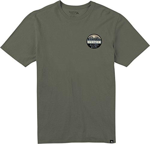 Dusty Olive (Burton Men's Hopewell Short Sleeve T-Shirt, Dusty Olive, Medium)