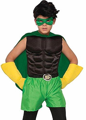Juggernaut Costumes Halloween (Forum Novelties Child Hero Muscle Chest Costume,)