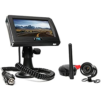 Rear View Safety Wireless Backup Camera System with Cigarette Lighter Adaptor RVS-091406 (Black)