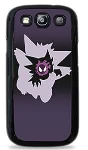 meilz aiaiGengar Evolution Ghastly Haunter Pokemon - Black Silicone Case for Samsung Galaxy S3 -420meilz aiai