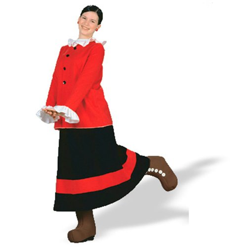 Olive Oil Costumes (Sailor's Sweetie Adult Costume Size Large)