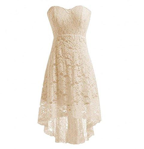 KA Beauty Damen Kleid champagnerfarben 56WSI9S - cocoon.die-witze.de