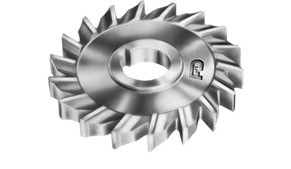 High Speed Steel F/&D Tool Company 10888-A5610 Side Milling Cutter 5//16 Width of Face 6 Diameter 1 Hole Size