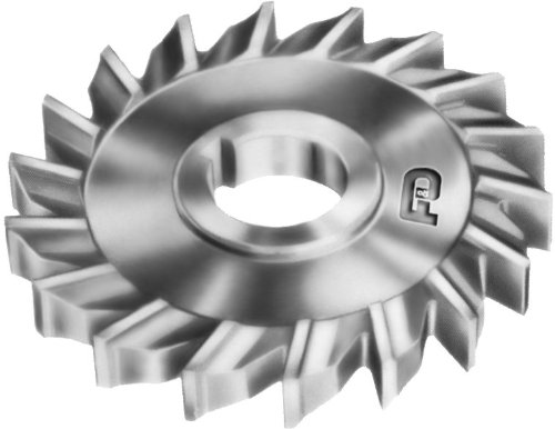1.25 Hole Size High Speed Steel 4 Diameter F/&D Tool Company 10795-A5415 Side Milling Cutter 7//16 Width of Face