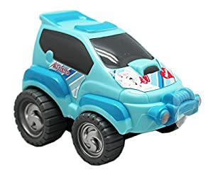 Disneys The Aristocats Marie Cat Friction Powered Kids Turbo Car: Light Blue
