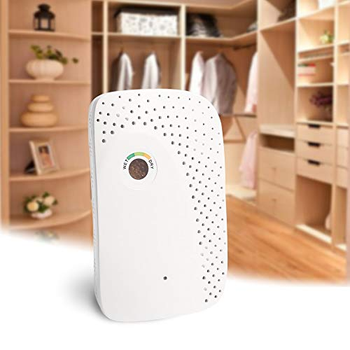 Haga Dehumidifiers for Home Mini Dehumidifier for Home Portable Mini Air Dryer for Home Desiccant Reusable Moisture Absorbing Machine Air Dehumidificaders EU Plug