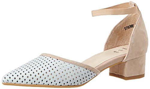 Beige 221 Damen Nude Bear The Shoe Simone Pumps qnYPFEXf