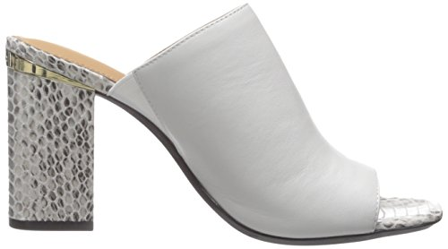 Calvin White Dress Cice Klein Sandal Women's Platinum rOqFrWY7