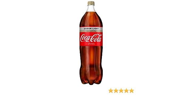 Coca-Cola - Light Sin Cafeína, Botella de Plástico 2 L: Amazon.es: Alimentación y bebidas