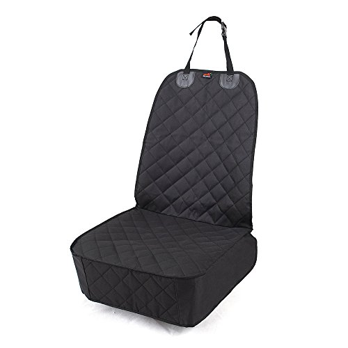 HONEST OUTFITTERS Dog Car Seat Cover, Pet Front Cover for Cars, Trucks, and Suv's – Waterproof & Nonslip Dog Seat Cover(Front Seat) Review
