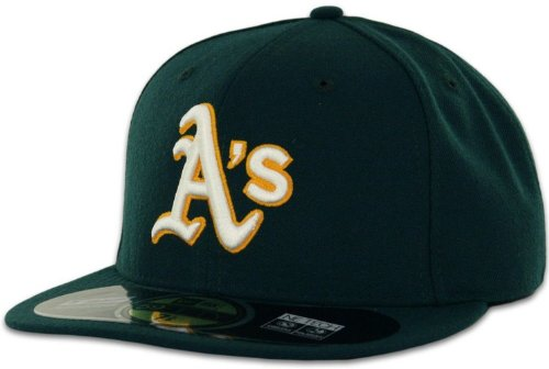 New Era MLB Oakland Athletics Road AC On Field 59Fifty for sale  Delivered anywhere in USA