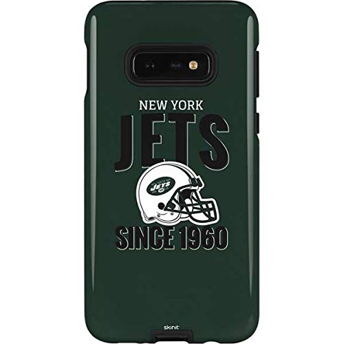 - Skinit New York Jets Helmet Galaxy S10e Pro Case - Officially Licensed NFL Phone Case Pro, Scratch Resistant Galaxy S10e Cover