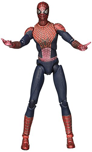 All Spiderman Costumes In Amazing Spider Man (Medicom The Amazing Spider-Man 2: Spider-Man Miracle Action Figure DX Deluxe Set)