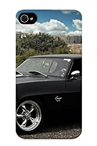 KMthUG-4336-DwAMv Case Cover Skin For Samsung Galaxy S6 Case Cover (auto Chevrolet Camaro popular Rod Classic Cars Muscle Black )/ Nice Case With Appearance