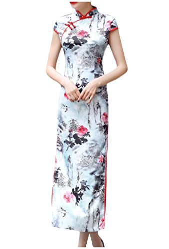 Sheath Floral Coolred Dress Slim Fit Pencil Women Printed 4 Oversized w1IIFc0qR