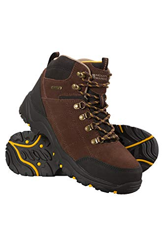 Mountain Warehouse Boreal Mens Waterproof Hiking Boots - for Walking Brown 11 M US Men