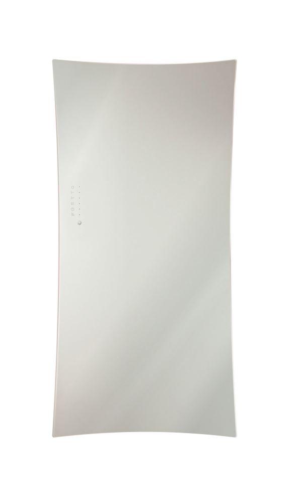lohema Diseño Cristal Radiador eléctrica Flag 700 W blanco 1063 X 532 mm: Amazon.es: Iluminación