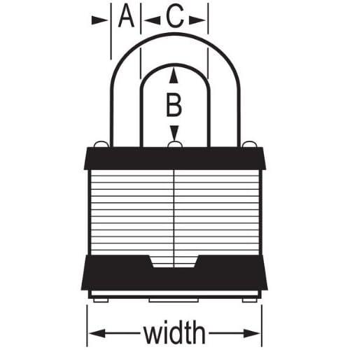 Master commercial padlock set 24 keyd alike 3KA