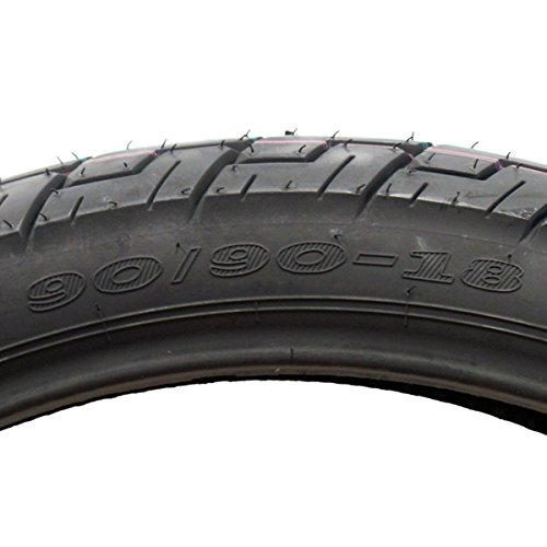 Tire 90/90-18 Sport Touring Cruiser Motorcycle Tire - Tubetype (P47) by MMG (Image #2)