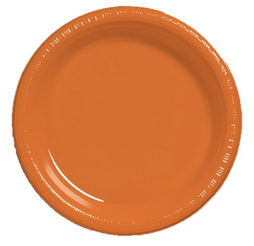 Creative Converting Plastic Dinner Sunkissed