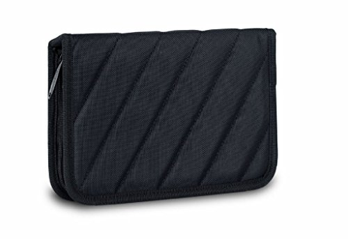 BUBM Portable Electronics Accessories Case for Travel Organizer Electronic Bag Small Case size - Black by BUBM (Image #3)