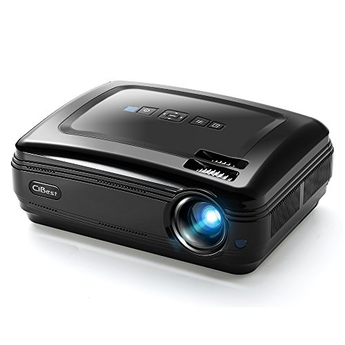 Video Projector, CiBest LED Portable Projector 3200 Luminous Efficiency
