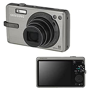 Samsung SL820 12MP Digital Camera with 5x Wide Angle Dual Image Stabilized Zoom and 3.0 inch LCD (Silver)