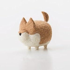 Truslin - DIY Needle Felting Kit with Gift Box Faceless Dog - Akita 42