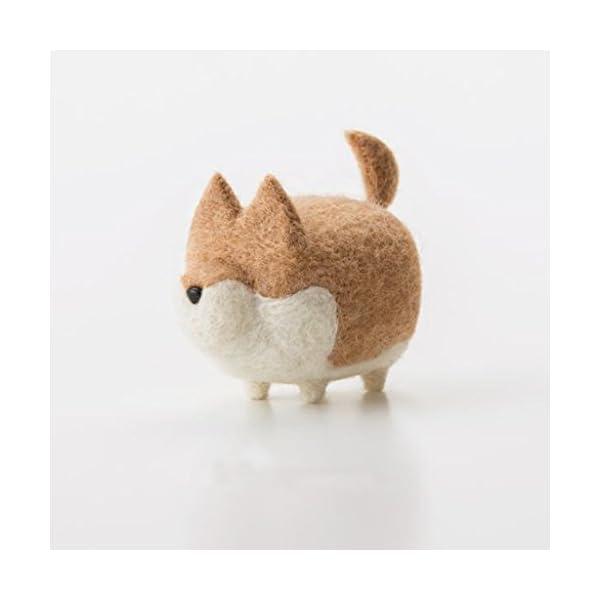 Truslin - DIY Needle Felting Kit with Gift Box Faceless Dog - Akita 1