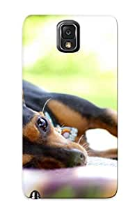 Hot Lazy Chihuahua First Grade Tpu Phone Case For Galaxy Note 3 Case Cover