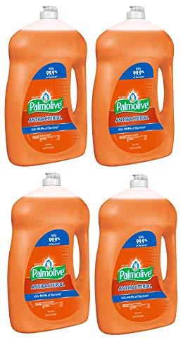 Palmolive Ultra Dishwashing Liquid, Antibacterial Orange, 68.5 Fl Oz (4) ()
