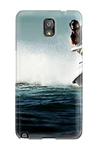 Durable Case For The Galaxy Note 3- Eco-friendly Retail Packaging(jet Ski)