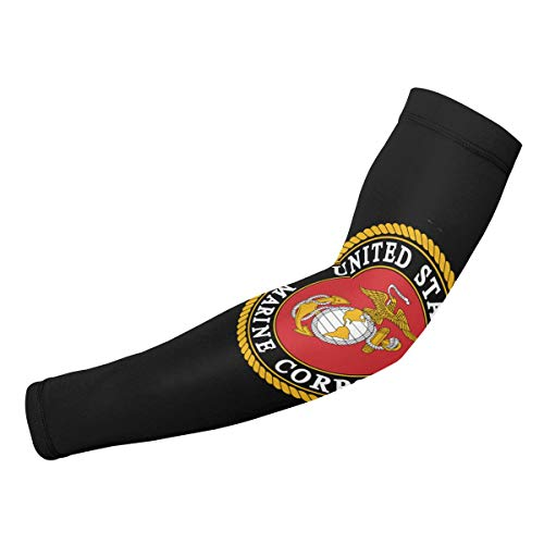 Arm Sleeves Marine Corps Compression UV Protection Cooling