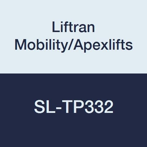 Liftran Mobility/Apexlifts SL-TP332 Sani-Sling, Polyester, Deluxe Padded,  30''-48'' Torso, 400 lb. Weight Capacity, Medium