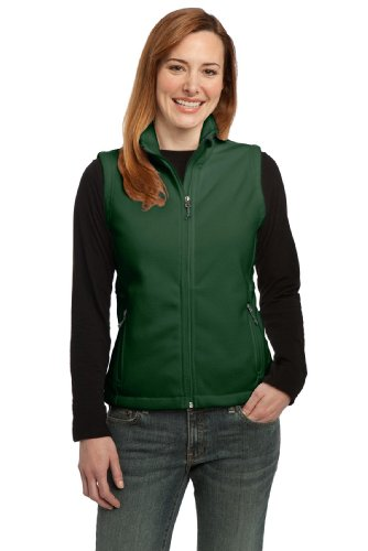 Women Port (Port Authority Women's Value Fleece Vest L Forest Green)