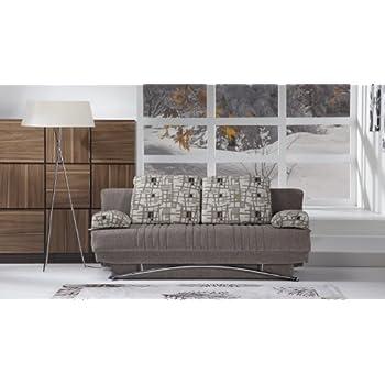 Amazon.com: Fantasía sofá Sleeper en Aristo Borgoña: Kitchen ...