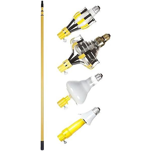 Bayco LBC-600SDLB 11-Feet Light Bulb Changer Kit - Portable Work Lights -  Amazon.com