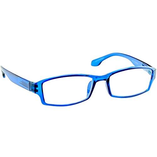 Reading Glasses 1.00 Single Blue (1 Pair) F501 TruVision - Designer Deals Glasses
