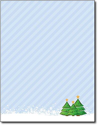 Stationery Holiday (3 Trees Holiday Stationery - 80 Sheets)