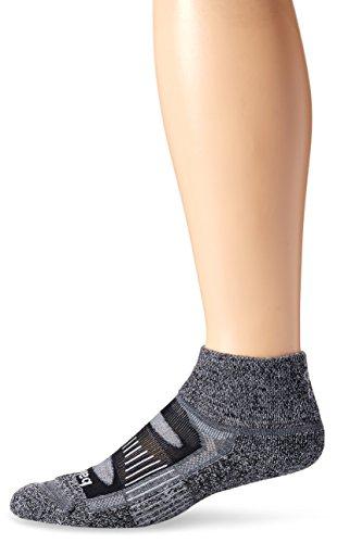 Balega Blister Resist Quarter Socks, Charcoal, Medium
