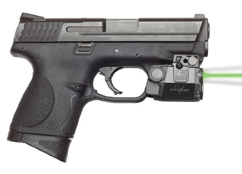 Viridian C5L Universal Green Laser Sight and Tac Light for Sub-Compact Handgun Pistols, ECR Instant On Technology by Viridian Weapon Technologies (Image #1)