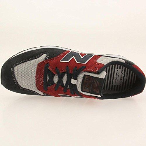 Ny Balans Mens 696 Seaside Gömställe Sneaker Navy