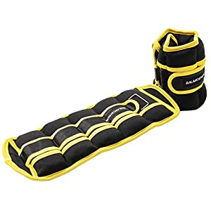 Well-Being-Matters 41SO-pnQ67L._SS300_ BalanceFrom GoFit Fully Adjustable Ankle Wrist Arm Leg Weights, Adjustable Weights, Adjustable Strap