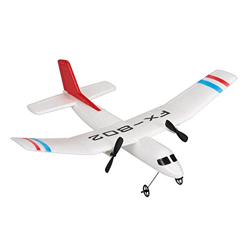 Goolsky Flybear FX-802 2.4G 2CH Remote Control Glider 310mm Wingspan EPP Micro Indoor RC Airplane Aircraft RTF